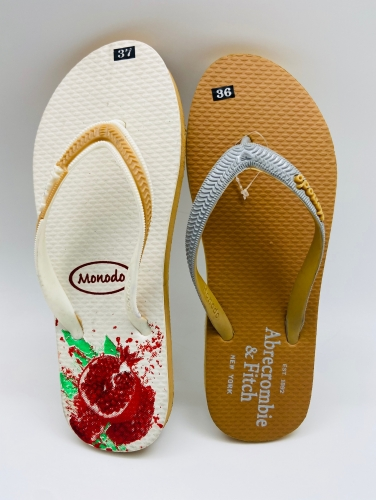 eva material shoes for women slippers